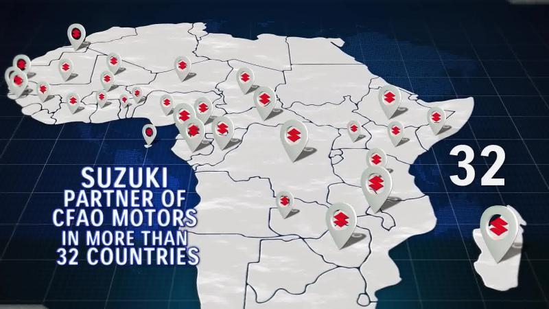 Le groupe CFAO en Afrique -Suzuki Sicam